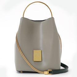 Lederner Beutel-Handtaschen-Frauen-Beutel der Form-Stadtstreicherin-Handtasche