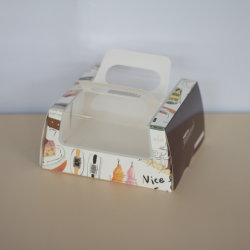 Дешевые бумаги небольшого пирог с прозрачное окно
