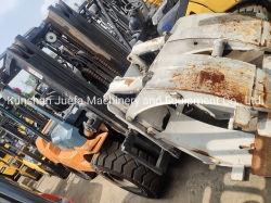 De gebruikte Vorkheftruck van Toyota 5ton met de Klem van het Broodje van het Document voor Verkoop
