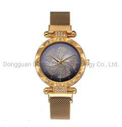 Relojes de cuarzo rosa Damas Relojes de pulsera de oro