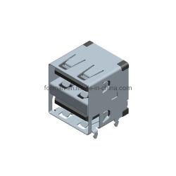 Placa PCB potencia montado en el conector de carga USB Jack apiladas para Electrónica Audio y Video instalaciones