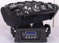 RGBWの段階ライト8eyesくもの移動ヘッド光ビームレーザー