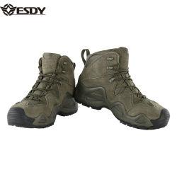 Esdy 3 colores para exteriores Senderismo Middle-Cut táctico zapatos botas