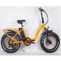 Fat Lady style montagne de pliage Ebike plié de pneus vélo électrique avec 250W à 1000W Le moteur à engrenages pour le commerce de gros
