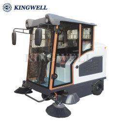 Kw-1900s vide Électrique Type de fermeture complète Ride-sur route Sweeper