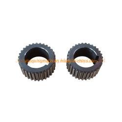Précision de l'engrenage cylindrique en acier au carbone avec rainure de clavette de roue pour boîte de vitesses