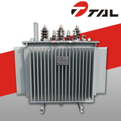 High Voltage Oil ondergedompelde Distribution Transformers, fabrikant van voeding, 10kv Oil Power Transformer