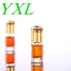 Direkte 3ml 6ml 12ml 24ml 50ml transparente Rolle der Fabrik-auf Glasflaschen-heiße Verkaufs-Rollen-Glasflasche mit Aluminiumschutzkappen-und Glas-Rolle