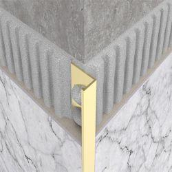 Mur d'aluminium et de garniture de carrelage de sol Decoration Material