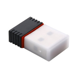 Adaptador WiFi mini USB N 802.11 B/G/N Dongle Wi-Fi 150Mbps de Alto Ganho da antena sem fio WiFi