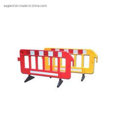 Temporal extraíble de plástico portátil de la barrera de tráfico para la Seguridad Vial
