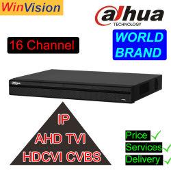 La marca original de Dahua 16CH Xvr Xvr5216an-X-16p 1080P 16 de Poe de Canal 5 en 1 DVR CCTV