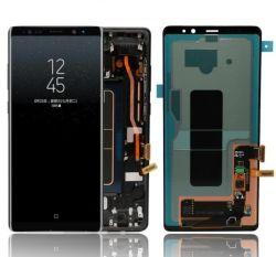 Nouveau-6.3pouces LCD-Display Samsung-Galaxy original pour la Note8 N950/N950f/affichage du téléphone mobile Touch/écran//pièces de remplacement+Frame