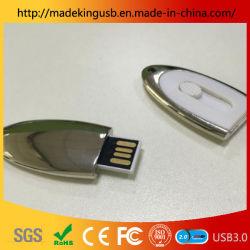 Fabricant de gros Stick USB push-pull ovale pour réunion de Noël cadeau publicitaire personnalisé