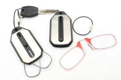 Sin MOQ de plástico Llavero coche Mini llevar gafas de lectura
