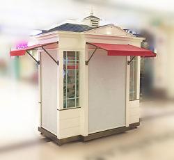 Unité de kiosque Retail Merchandising /