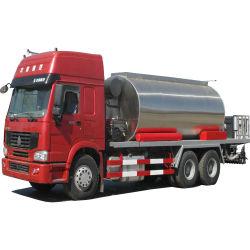 14000~16000 de Vrachtwagen van de Verdeler van het Bitumen van de liter, de Vrachtwagen van de Bestrating Bitume