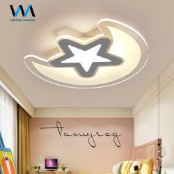 대중 음악 현대 별 달 디자인 침실을%s 틀린 천장 빛 LED