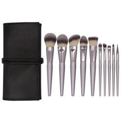 Лучший ход макияж набор щеток белый 10ПК макияж щетки Premium синтетические волосы Professional Foundation порошок Окрашивание контура косметических наборов Eyeliner Brush Nz