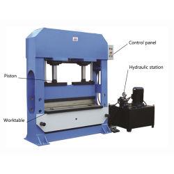 El pórtico de dos velocidades/Puente Taller prensa hidráulica Máquina con doble función (HPB-100)