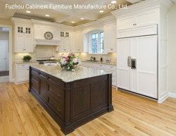 Bespoke Custom laca branco moderno de armários de cozinha