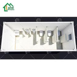 Contentores móveis de design luxuoso banheiro Comercial Modular prefabricados toalete lavabo WC