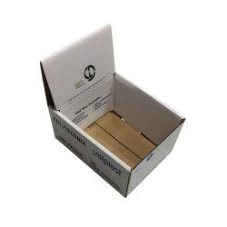 Affichage de petite taille de carton ondulé blanc Emballage pour les marchandises