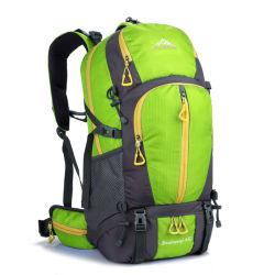 Fabricado en China Wholesale Fashion Large-Capacity nuevos productos de viaje en el exterior de la bolsa de Montañismo mochila
