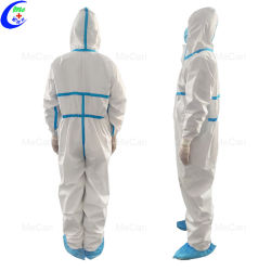 Il vestiario di protezione personale a gettare lavabile di Facemask del panno abbiglia protettivo