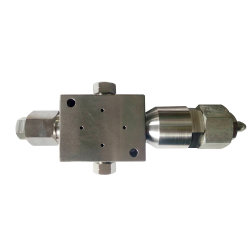 600 Мпа Flow-Type наиболее востребованных струей воды выпускной клапан в сборе для фрезы Watejet машины