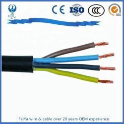 Гибкие медные Coductor Rvv/H05VV-F провода с изоляцией из ПВХ кабеля