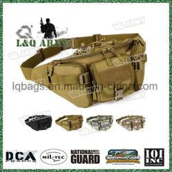 Militar en el exterior de la bolsa de cinturón de cintura cadera táctico funda bolso