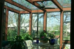 La eficiencia energética Alu. -La Casa Verde de madera con doble vidrio templado