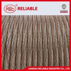 El revestimiento de plástico Copper-Clad Tube-Weld carrete de hilo de alambre de acero