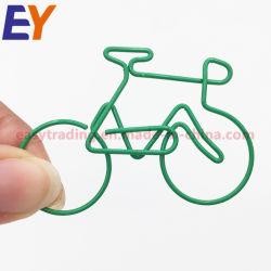 Clip di carta personalizzata del PVC del metallo su ordinazione poco costoso di marchio