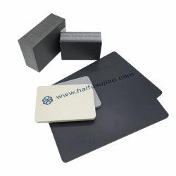 Rígidas de plástico de engenharia de folha de PVC cinzento platina para equipamentos Water-Treatment