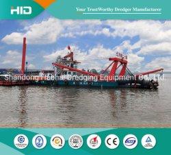 Bagger des Wasserstrom-5000m3/H 24 Zoll-Bagger VERSTECKTE Bagger-Scherblock-Absaugung-Bagger-Sand-Bagger-Bergwerksausrüstung-Bagger-Behälter/Lieferung/Boot