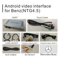 Android intégration vidéo de navigation GPS pour l'année 2014-2018 Mercedes-Benz Cls-Class X218