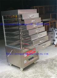 Vapore elettrico del gas della macchina termica del panino del vapore del Governo di esposizione degli alimenti a rapida preparazione dell'acciaio inossidabile