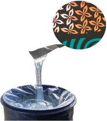 Ropa de tinta líquida de silicona recubierto mate Serigrafía impresión textil Gel de silicona Super suave material de silicona