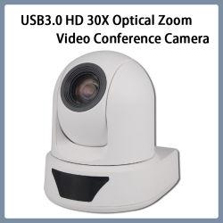 Macchina fotografica di videoconferenza della rete PTZ dello zoom di USB3.0 HD 1080P/60 20X