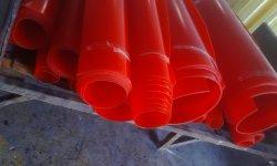 ورقة من البولي يوريثان باللون الأحمر، ورقة PU، ورقة بلاستيكية للفقمة الصناعية (3A2001)