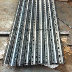Angle de l'étagère de haute qualité en acier perforé