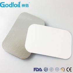 Deckel für Aluminiumfolie für Behälter zum Abreißen