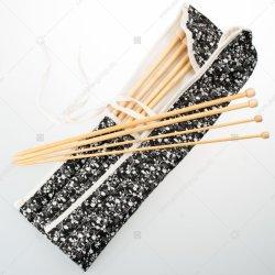 Strickende Nadel-strickende Nadel-gesetzte strickende Hilfsmittel-Bambusnadel