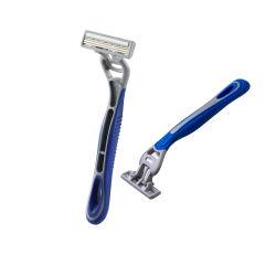 かみそりを剃る中国の製造業者の三倍の刃の使い捨て可能なかみそり