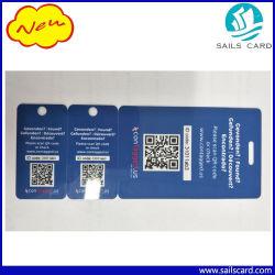 عرض بطاقة PVC Card Die Cut من رمز QR للأعمال الترويجية
