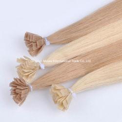 Capelli piani di punta di fusione di Prebonded dei capelli caldi all'ingrosso della cheratina