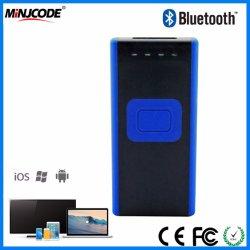 La tecnología inalámbrica Bluetooth 4.0 Mini Lector de códigos de barras, lector de códigos de barras portátiles, Tablet/Smartphone/dispositivo de PC, MJ2860