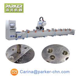 CNC 맷돌로 갈고 교련을%s 알루미늄 관 단면도 기계로 가공 센터